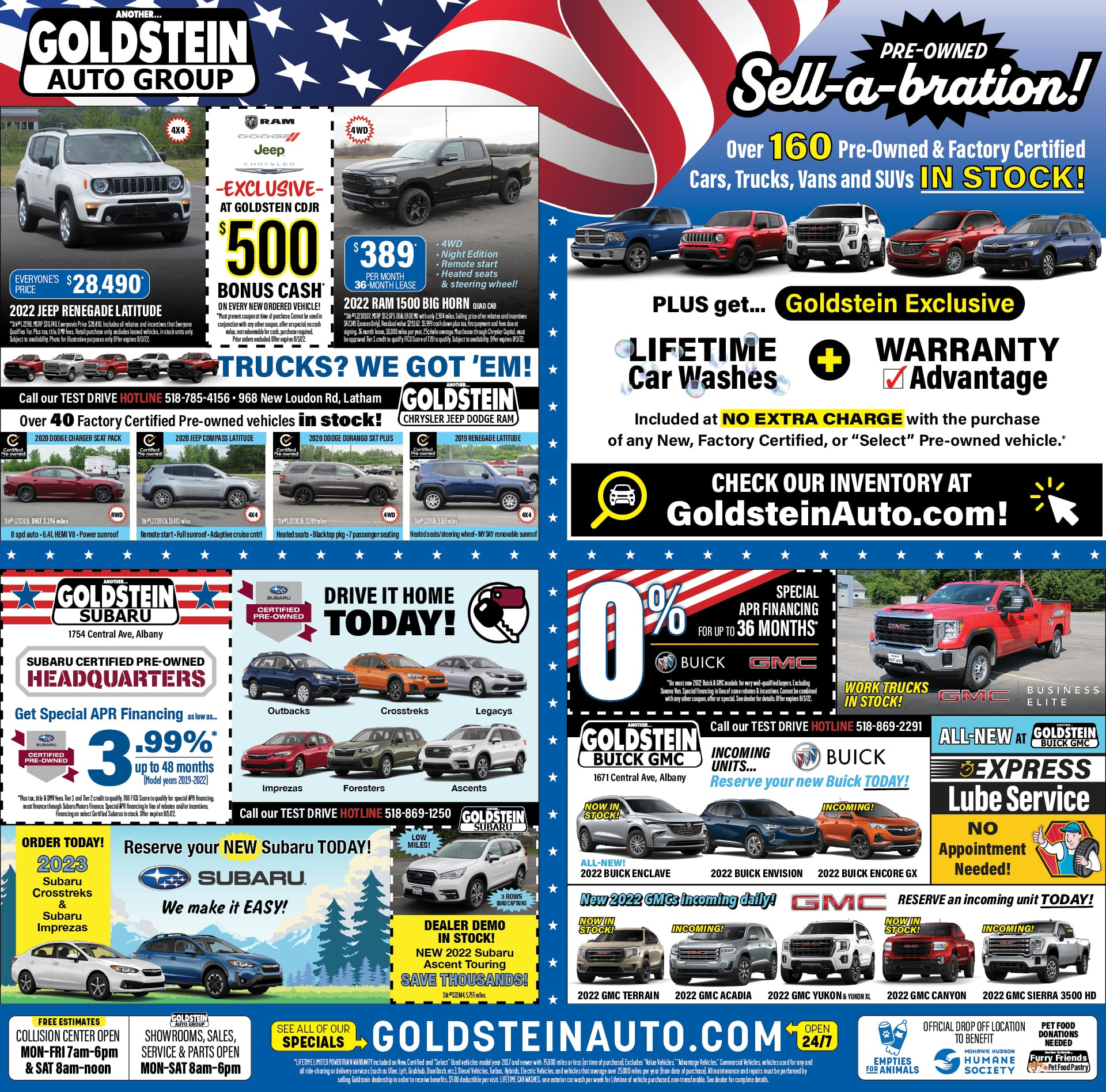 Latest Newspaper Ads New And Used Car Specials Albany Ny